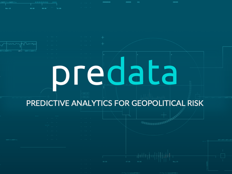 Predictive Analytics for Geopolitical Risk